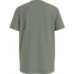 Tommy Hilfiger kids boys logo t-shirt in de kleur olive green groen