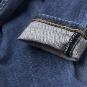 Calvin Klein kids boys skinny washed blue broek in de kleur jeansblauw
