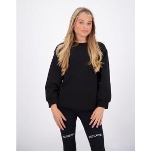 Reinders kids girls yara fay lange sweater trui in de kleur zwart