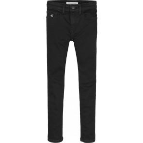 Calvin Klein kids boys skinny jeans broek in de kleur zwart