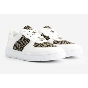 Nik en Nik kids Aivey sneaker schoen in de kleur wit
