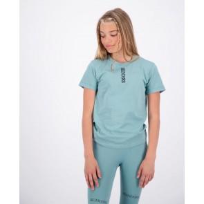 Reinders kids girls Livia t-shirt slim fit in de kleur mineral blue blauw