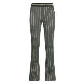 Retour jeans denim deluxe girls flared broek Ans in de kleur beige/zwart