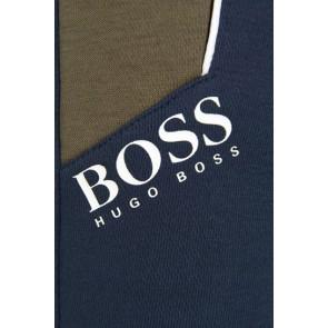 Hugo Boss kids boys sweatpants met logo in de kleur donkerblauw