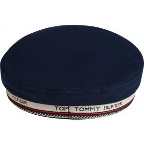 Tommy Hilfiger logo band schipperspet in de kleur donkerblauw