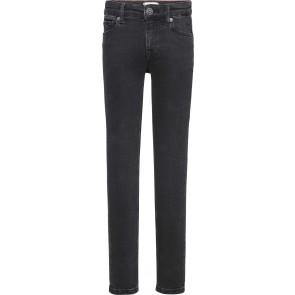 Tommy Hilfiger kids girls Nora skinny jeans broek in de kleur zwart