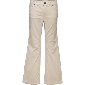 Tommy Hilfiger kids girls ribcord flared pants rib broek in de kleur zachtroze