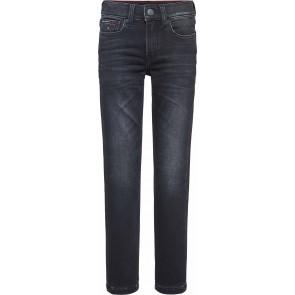 Tommy Hilfiger kids boys spencer brushed jeans in de kleur zwart
