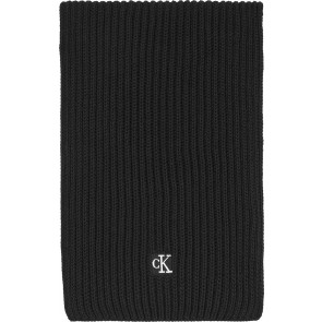 Calvin Klein kids uniseks modern essential scarf sjaal in de kleur zwart