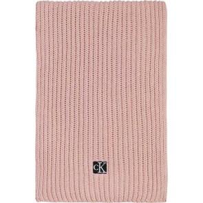 Calvin Klein kids uniseks modern essential scarf sjaal in de kleur roze