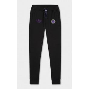 Black Bananas kids JR girl anorak arcade sweatpants broek in de kleur zwart/paars