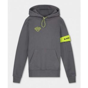 Black Bananas kids JR command hoody sweater trui in de kleur grijs/geel