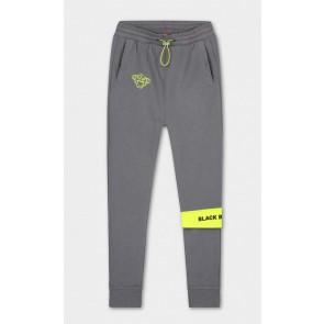 Black Bananas kids JR command sweatpants broek in de kleur grijs/geel