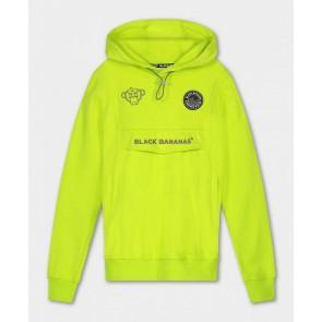 Black Bananas kids JR Mania hoody sweater trui in de kleur lime/geel