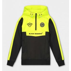 Black Bananas kids JR analog tracktop sweater trui in de kleur zwart/geel