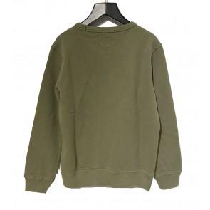 CP Company undersixteen sweatshirt crew neck sweater trui in de kleur army green