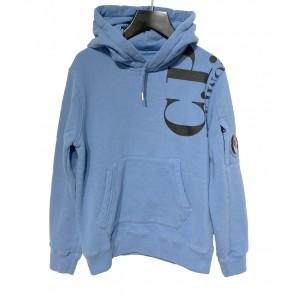 CP Company undersixteen sweatshirt hoody sweater trui in de kleur blauw