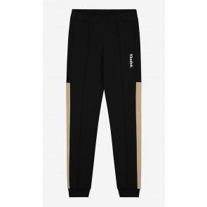 Nik en Nik boys Walden trackpants sweatpants in de kleur zwart/beige