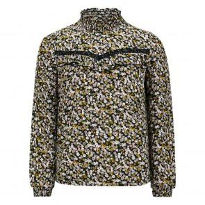 Retour jeans girls blouse Ria met bloemenprint in de kleur multicolor