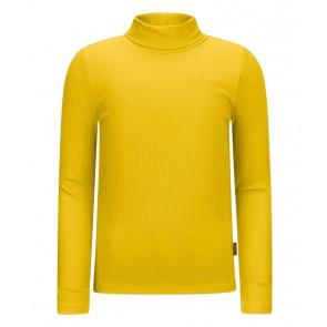 Retour jeans girls Mirella rib col top in de kleur corn geel