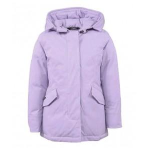Airforce kids girls 2-pocket classic parka in de kleur lavender frost lila