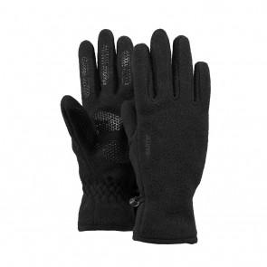 Barts kids basic fleece glove handschoenen in de kleur zwart