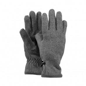 Barts kids basic fleece glove handschoenen in de kleur heather grey grijs
