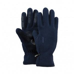 Barts kids basic fleece glove handschoenen in de kleur donkerblauw