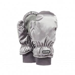 Barts kids nylon mitts kids wanten in de kleur zilver