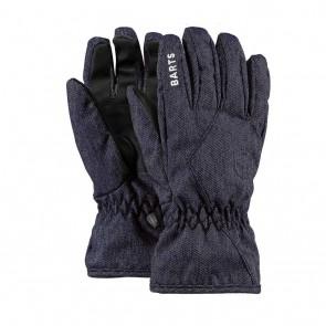 Barts kids basic ski gloves handschoenen in de kleur jeans