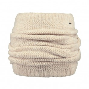 Barts kids Shae col sjaal scarf in de kleur cream white