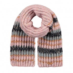 Barts kids Lore scarf sjaal in de kleur pink multicolor