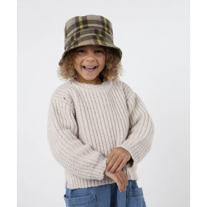 Barts kids Breonna bucket hat geruit in de kleur multicolor