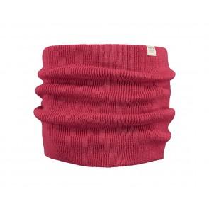 Barts kids Kinabalu scarf sjaal in de kleur lipstick cerise rood