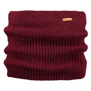 Barts kids Macky col scarf sjaal in de kleur burgundy bordeaux rood