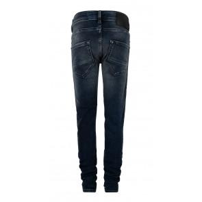 Indian blue jeans kids boys blue Ryan skinny fit met donkere blauwe wassing