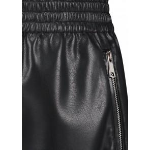 Circle of trust kids girls yade skirt rok van imitatie leer in de kleur zwart