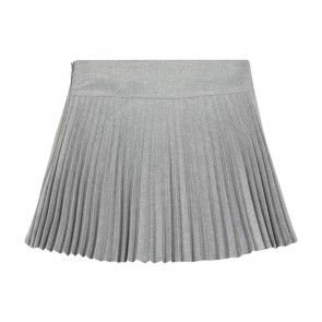 Tartin et Chocolat girls plisee rok in de kleur grijs