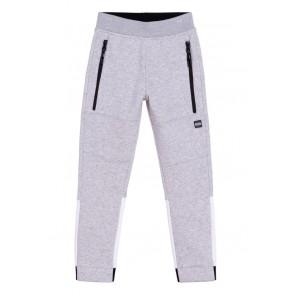 Hugo Boss kids boys sweatpants in de kleur grijs/wit