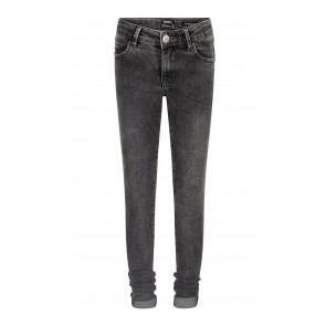 Indian blue jeans grey jill flex skinny fit in de kleur grey denim