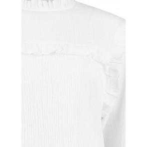Circle of trust kids girls Elaine blouse met ruches in de kleur off white