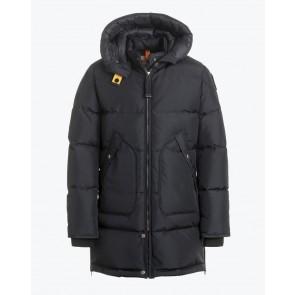 Parajumpers kids girls winterjas long bear jacket in de kleur pencil zwart