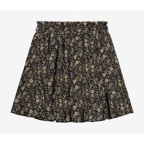Nik en Nik girls Irene Paisley skirt rok in de kleur zwart/beige