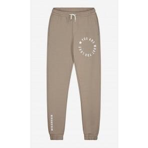 Nik en Nik girls Vivi sweatpants broek in de kleur beige/grijs