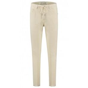 Circle of trust girls Amber rib broek in de kleur antique white
