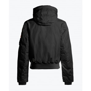 Parajumpers kids girls winterjas bomberjacket gobi base jacket in de kleur black zwart