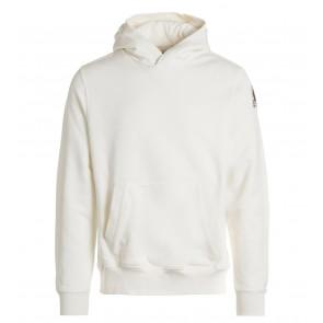 Parajumpers kids track boy sweatshirt hoodie sweater trui in de kleur off white
