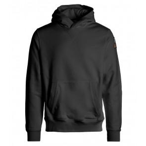 Parajumpers kids track boy sweatshirt hoodie sweater trui in de kleur zwart