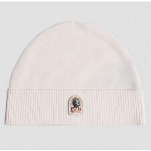 Parajumpers kids basic hat muts merino wol in de kleur off white