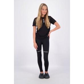 Reinders girls sport legging long in de kleur zwart